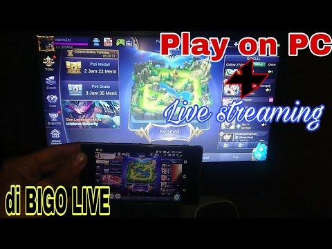 Cara Simple Play Game Android On PC : Sekaligus Live Streaming Di BIGO LIVE On PC | Bye Bang Adi