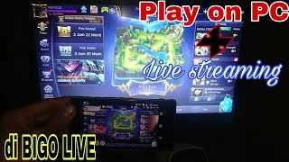 Video Cara Simple Play Game Android on PC : sekaligus Live streaming di BIGO LIVE on PC | bye bang Adi download MP3, 3GP, MP4, WEBM, AVI, FLV Desember 2017