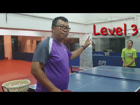 ฝึกปิงปองออนไลน์กับปิงปองไทบ้าน EP.3 ฝึกโฟร์แฮนด์อย่างไรให้ตีได้ง่ายๆ   Pingpongthaibaan