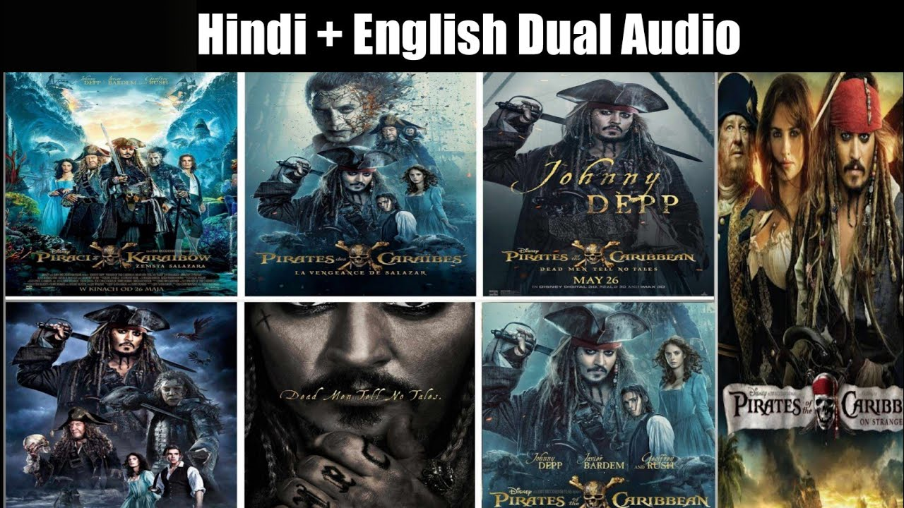 Download How to Download pirates of the caribbean All Movie Parts in Hindi/pirates of the caribbean Download