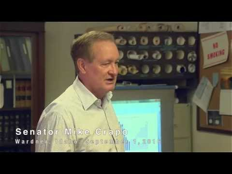 Mike Crapo for Senate | A Serious Budget Crisis