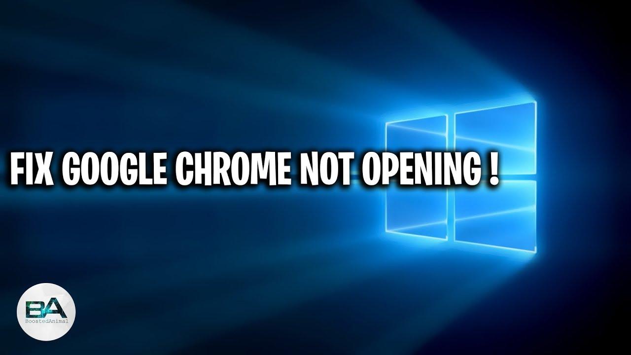Fix Google Chrome Won T Open Load Error Youtube