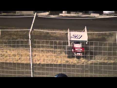 Bud Kaeding's Victory Celebration at Santa Maria Speedway 6/29/13!!!