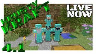 Krusty Live Stream|4.1|Villager Trader Plans!