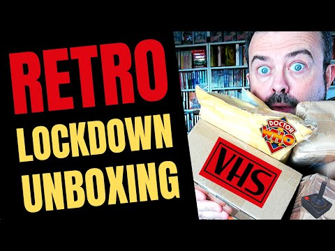 Watch Me Open All My Retro Post! Classic Doctor Who Unboxing, Horror VHS Haul, Dragon 32 Games