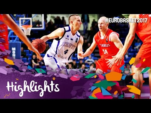 Estonia v Belarus - Highlights - FIBA EuroBasket 2017 Qualifiers
