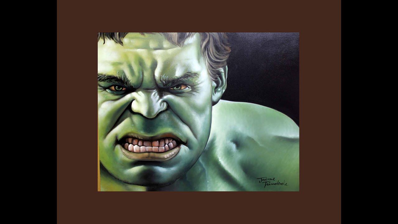 Como pintar o hulk youtube - Como pintar bien una pared ...