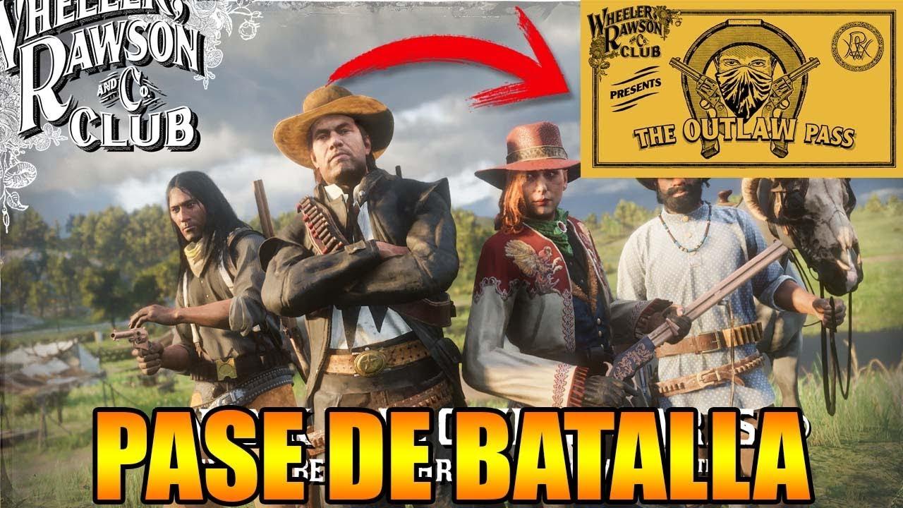 PASE DE BATALLA EN Red Dead Redemption 2 NUEVA ACTUALIZACIÓN 10 DE SEPTIEMBRE