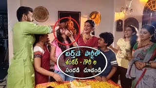 Birthday Video Of Agni Sakshi Serial Actress Sree Priya On location Video