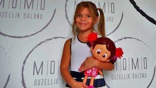 Видео для девочек. Элис в салоне красоты. Прически. Детская мода. Прогулки с детьми