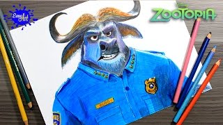 DRAWING ZOOTOPIA  l How to draw Bongo zootopia l Como dibujar a Bongo zootopia