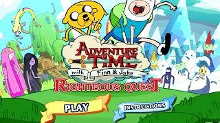 Adventure Time avec Finn & Jake - JUSTES QUÊTE (Cartoon Network Jeux)