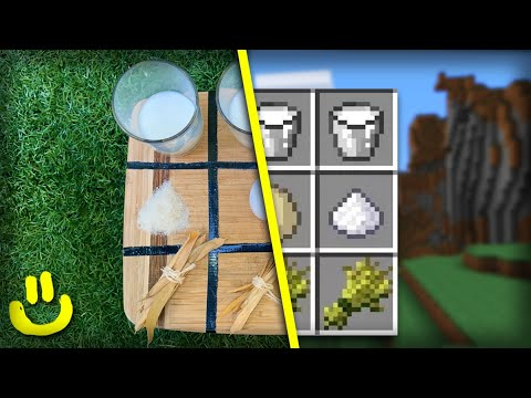 Minecraft Crafting Recipes In Real Life