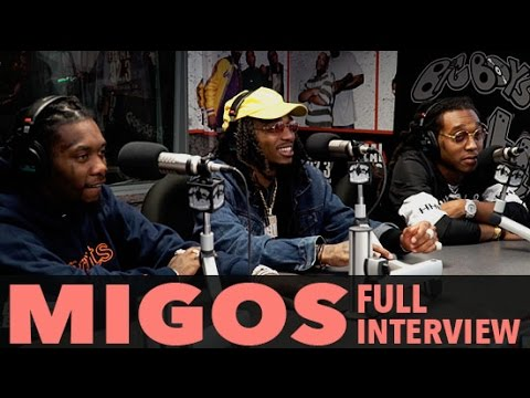 "Migos on Bad and Boujee, New Album ""Culture"", Golden Globes and more! (Full Interview) 