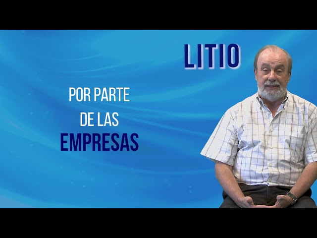 LITIO desde la UNLP | Etcheverry