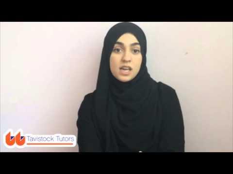 Watch Amina | Arabic Tutor London | Tavistock Tutors