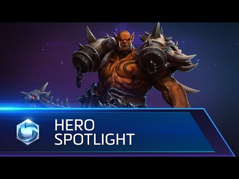 Garrosh Spotlight – Heroes of the Storm