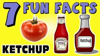 7 FUN FACTS ABOUT KETCHUP! FOOD FACTS FOR KIDS! Hot Dogs! Mustard! Learning Colors Funny Sock Puppet