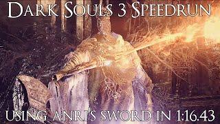 Dark Souls 3 Speedrun in 1:16.44 (All Bosses)