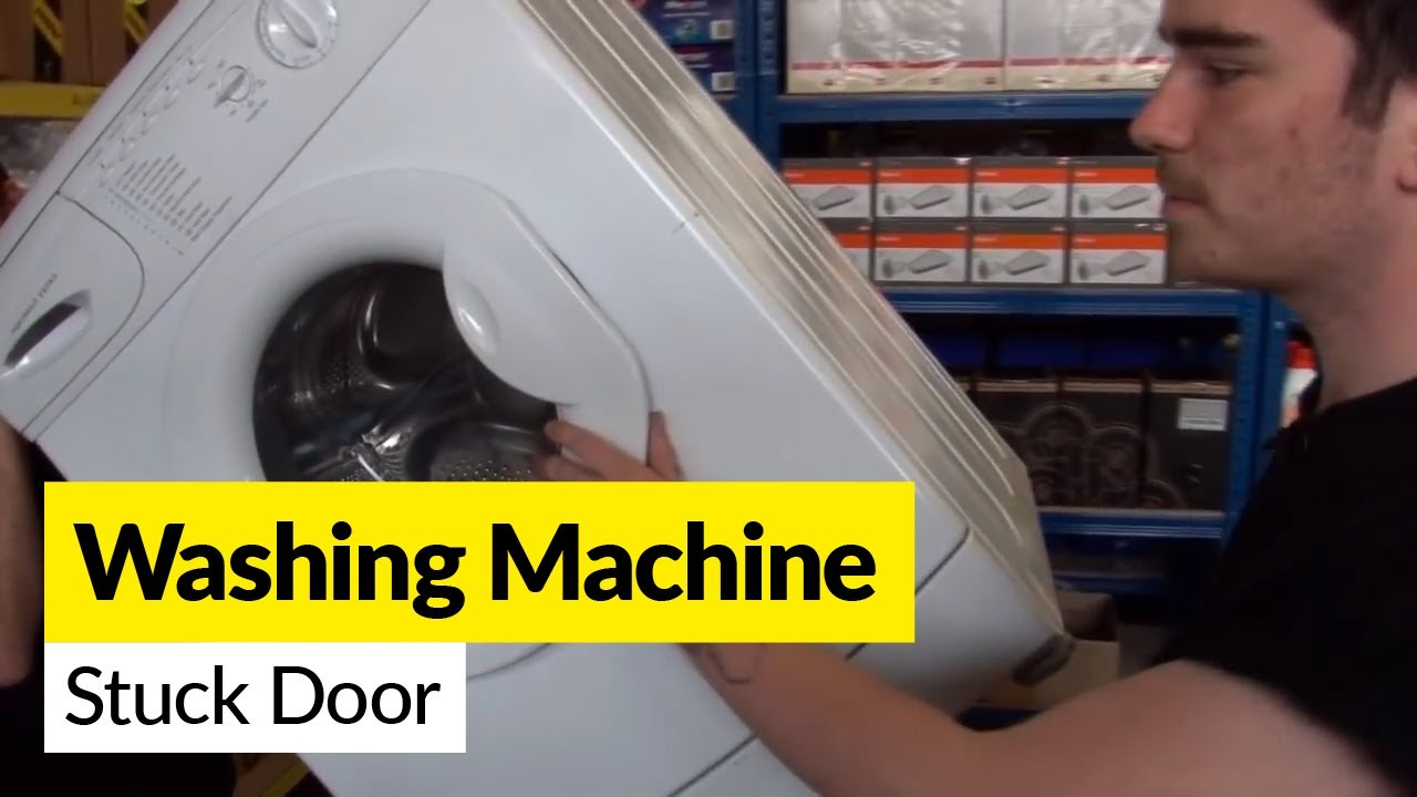 How To Open A Washing Machine Door That S Stuck Closed