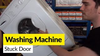 How to Open a Washing Machine Door that's Stuck Closed