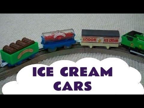 Train Ice Cream Cake