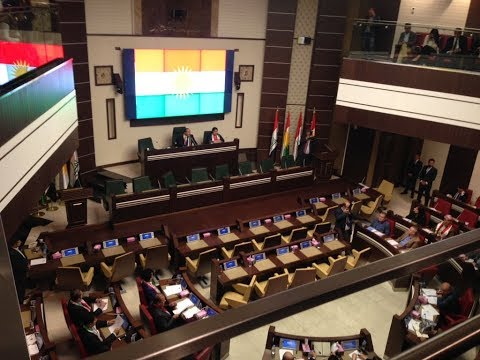 Kurds Parliament in session for the first time in 2 yrs