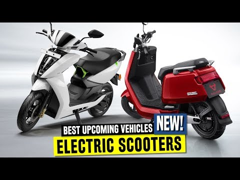 7 New Electric Scooters in 2019 ft. Smart Ather 450 and Vespa Elettrica
