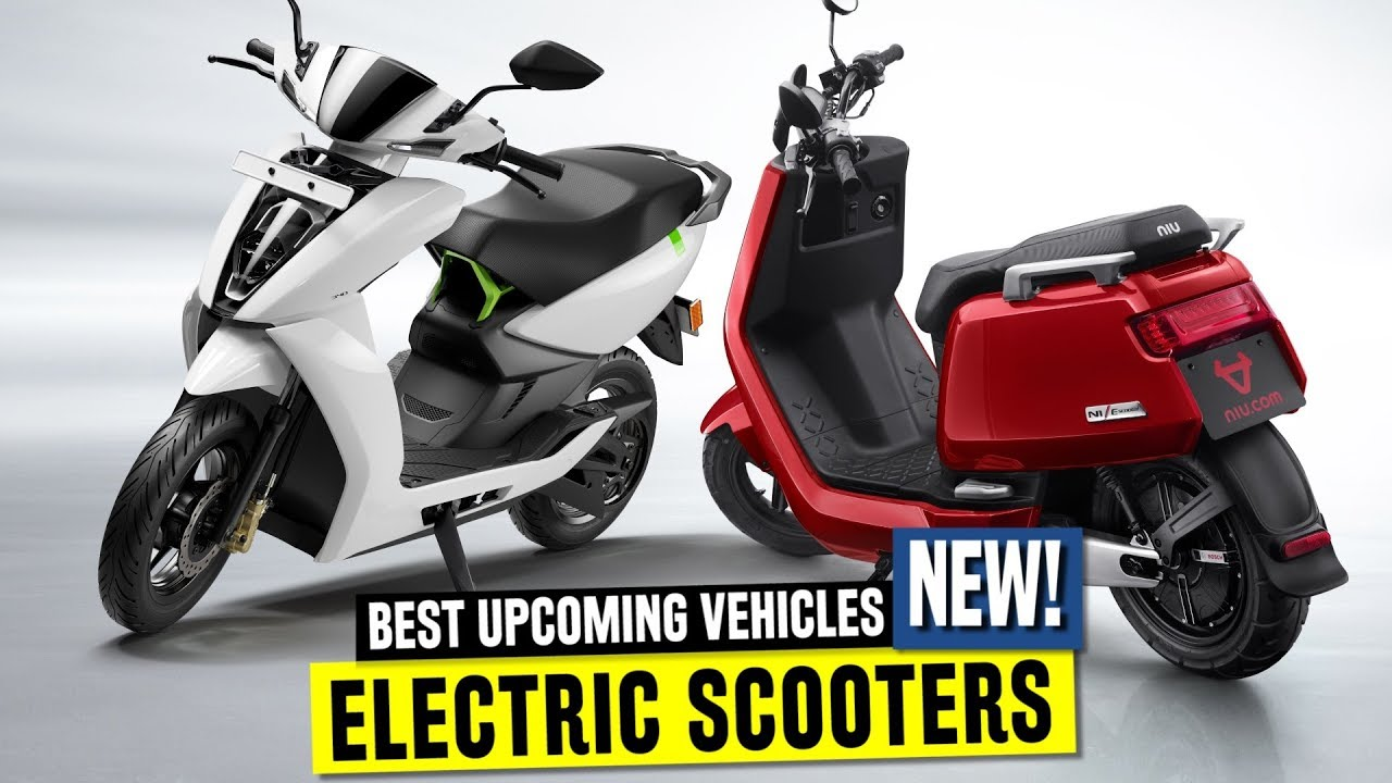 7 New Electric Scooters In 2019 Ft Smart Ather 450 And Vespa Elettrica You
