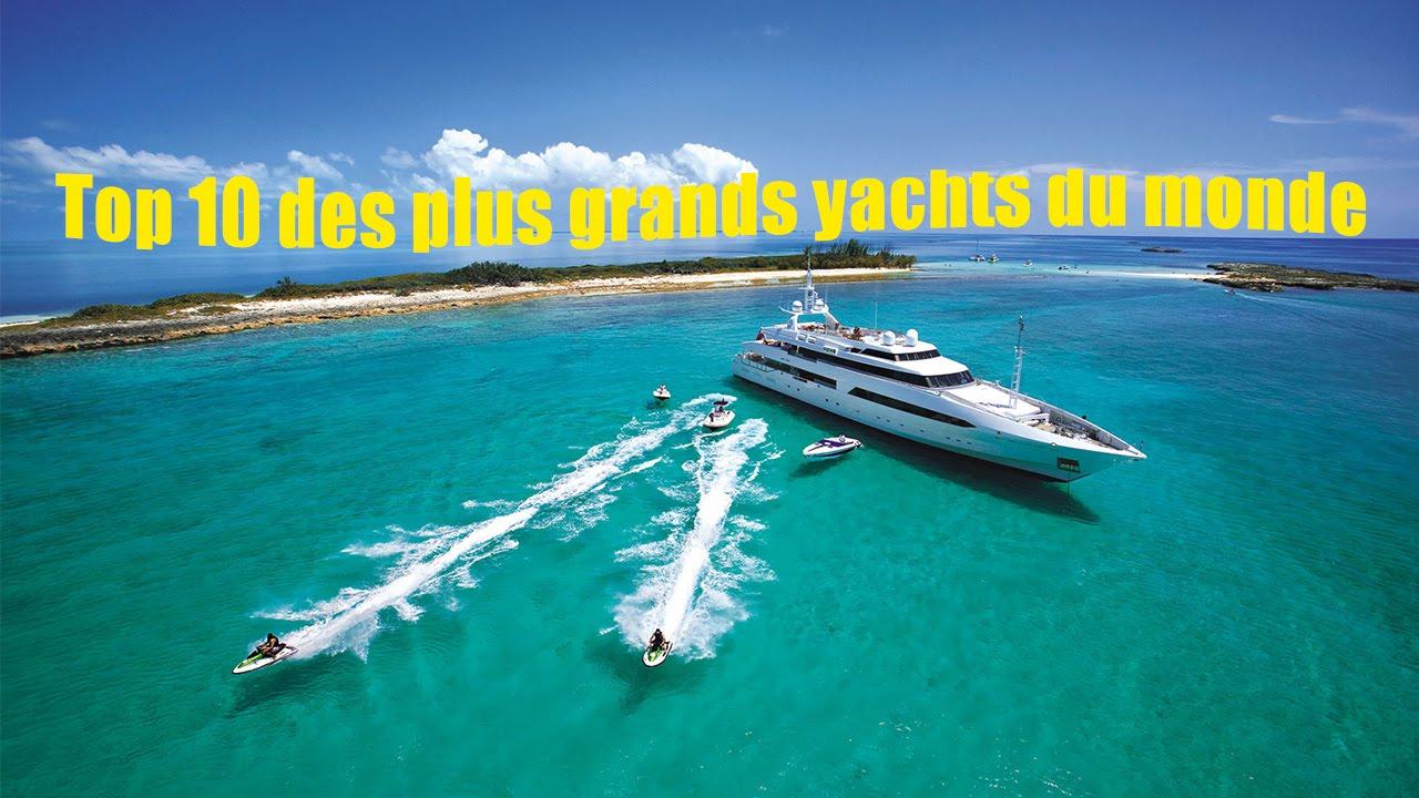 top 10 des plus grands yachts du monde youtube. Black Bedroom Furniture Sets. Home Design Ideas