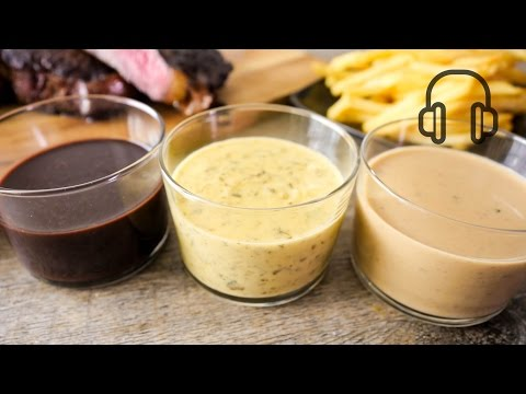 3 French Steak Sauce Recipes