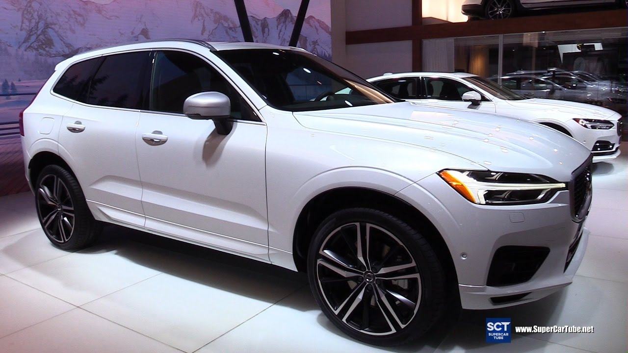 2018 volvo xc60 t8 r design exterior interior walkaround debut at 2017 new york auto show. Black Bedroom Furniture Sets. Home Design Ideas