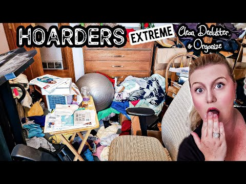 HOARDER!!! ALL DAY COMPLETE DISASTER CLEANING MOTIVATION! DECLUTTER & ORGANIZE! LIVING WITH CAMBRIEA