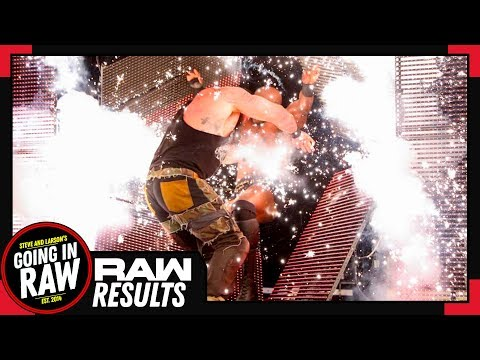 WWE Raw Full Results & Review | Heyman's Explosive First Raw | Going In Raw Podcast