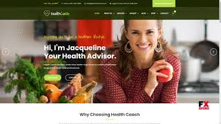 Health Coach - Joomla Template for Fitness, Health, Personal Life Coa