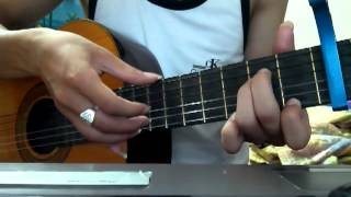 Hướng dẫn Bước Qua Nhau - kaishi ( Mình Chia Tay Nhé Guitar - Minh Vương )