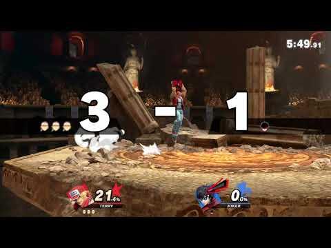 Super Smash Bros. Ultimate - Terry (me) Vs. Joker