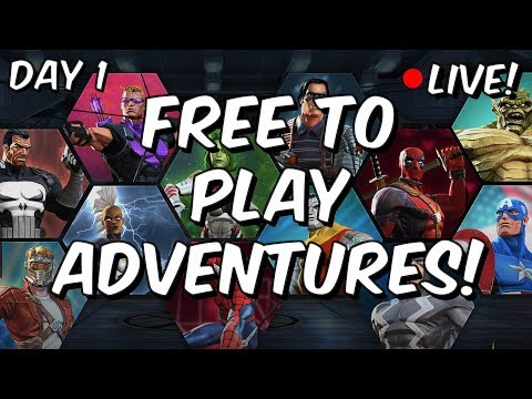 Free To Play Adventures - Day 1: The Account Begins - Marvel Contest Of Champions