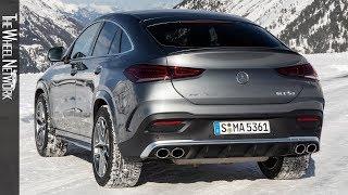 2020 Mercedes-Benz GLE 53 4MATIC+ Coupe | Selenite Gray Metallic | Driving, Interior, Exterior