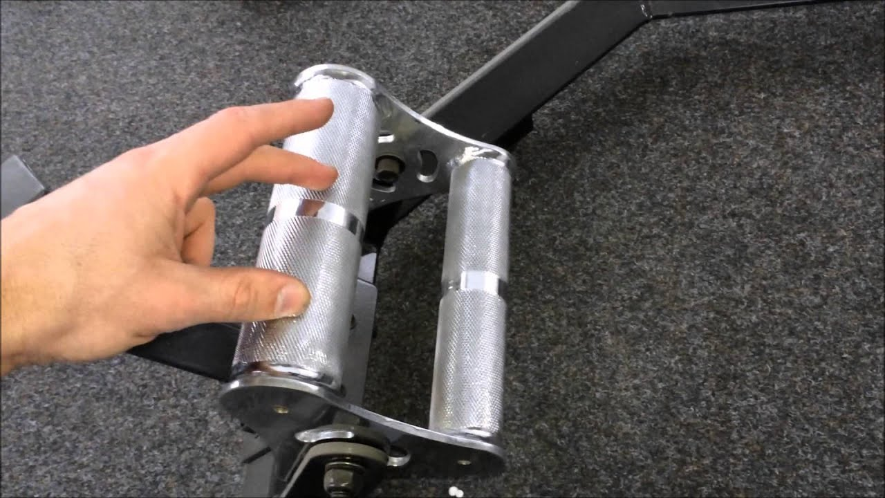 Review of the multi-grip Barbarian Line Trap Bar - YouTube
