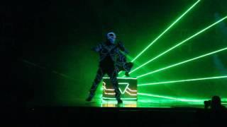 Laserman show. Лазерное шоу в Иркутске. Фестиваль науки 0+ - Студия Кобра