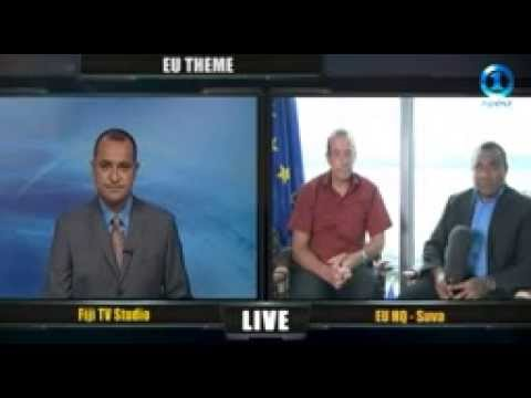 EU Ambassador Andrew Jacobs speaks to Fiji One News about the European Year of Development