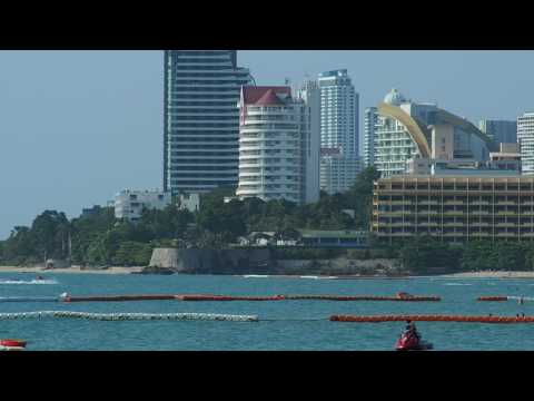 Stock Footage marine activity in Pattaya