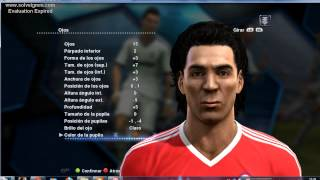 Ivan Zamorano en PES 2013- CHILE ALL STARS