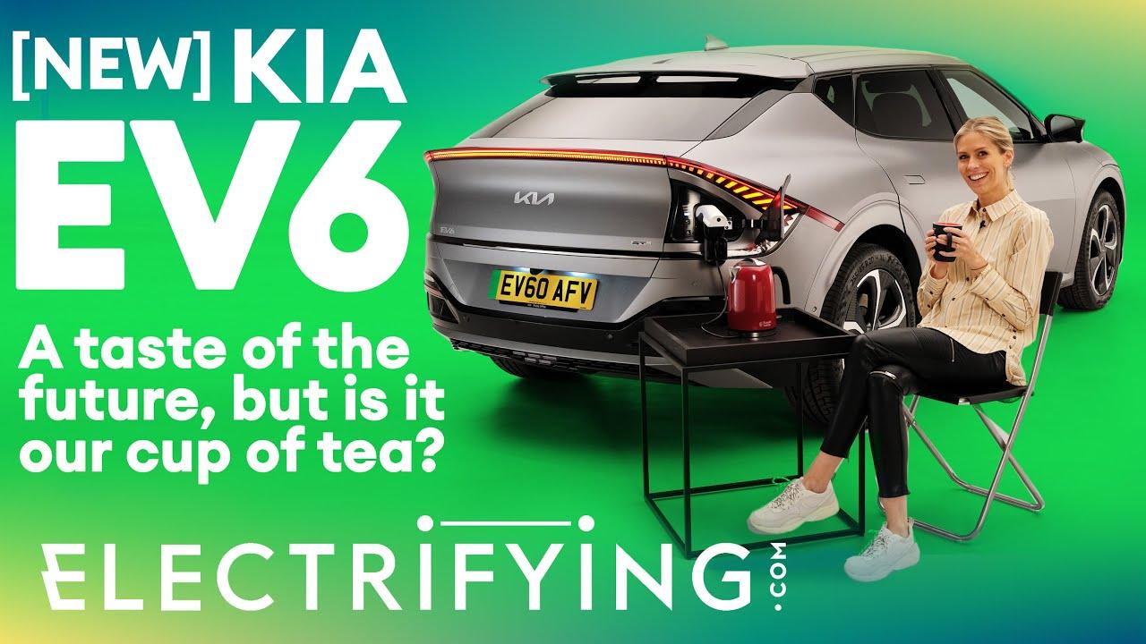 Kia EV6 in-depth walkaround: Take a look around Kia's new electric star / Electrifying