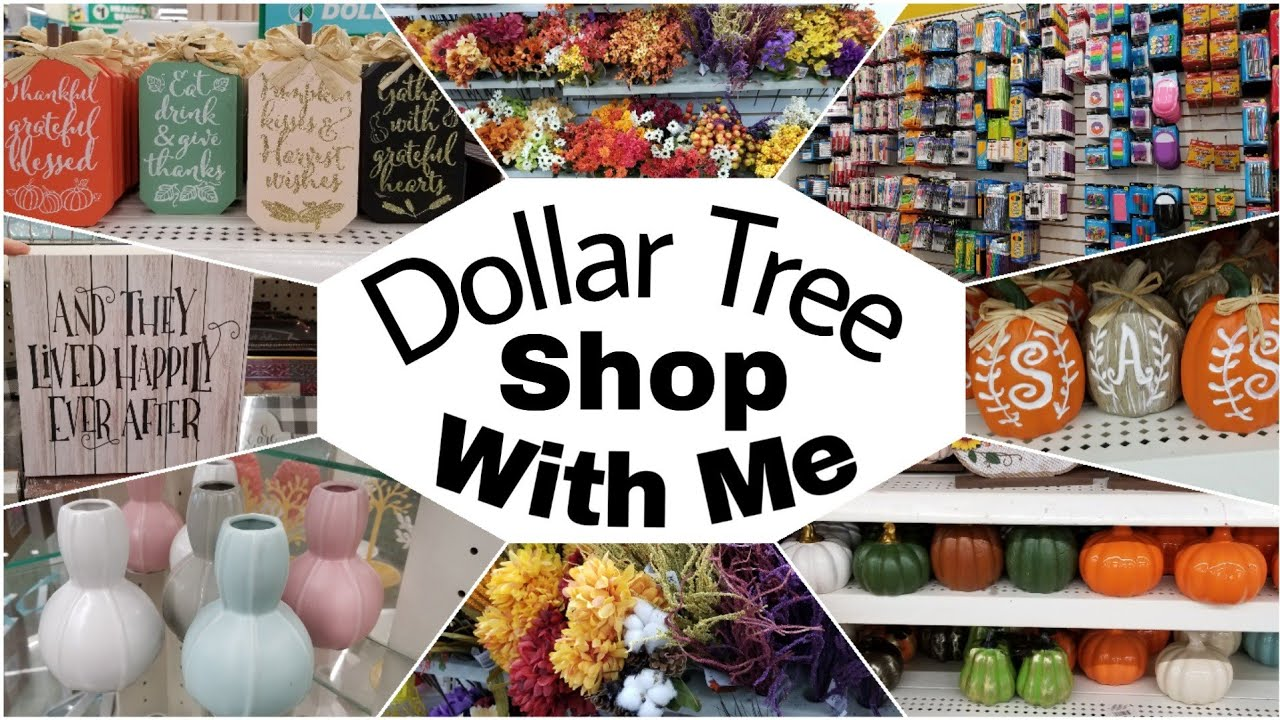 Dollar Tree Shop With Me • new items! Fall and Back to School