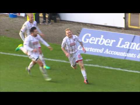Chris Burke scores first ever goal for Ross County!