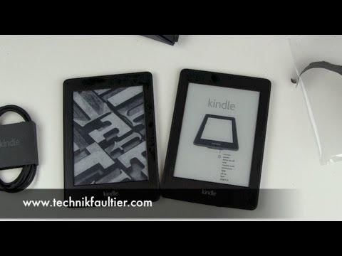 Kindle Paperwhite 2013 Unboxing und erster Eindruck