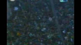 Sporting 7 Benfica 1 - golo goal 2 Manuel Fernandes 1986