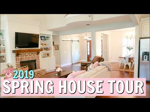 SPRING HOUSE TOUR 2019 | HOW TO DECORATE ON A BUDGET | Amy Darley